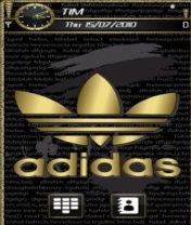 Symbian Adidas Gold Theme freeware