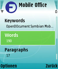 Symbian Mobile Office for S60 2nd Edition freeware