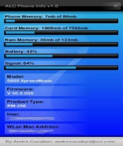 Symbian ALC Phone Info freeware