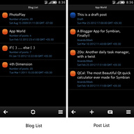 Symbian Blob (Free): Blogger Client freeware