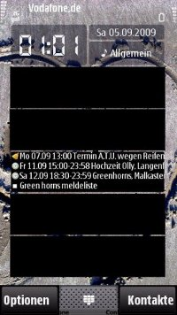 Symbian Calendar Outlook freeware