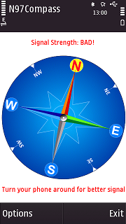 Compass for N97