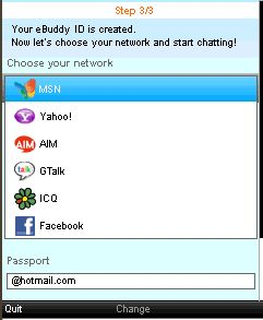 Symbian eBuddy freeware