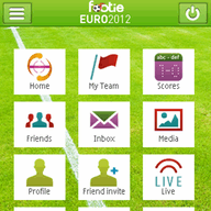 Symbian Footie EURO2012 freeware