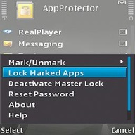 Symbian Free - AppProtector freeware