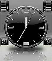 Blacky Style for Niceclock v2.0