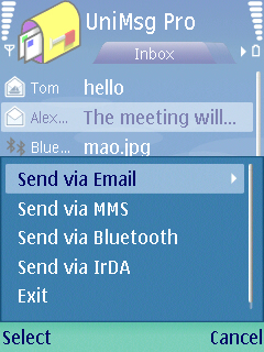 UniMessaging Lite for S60 3rd