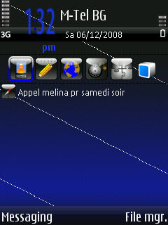 Symbian Moonlight Shadow Theme freeware