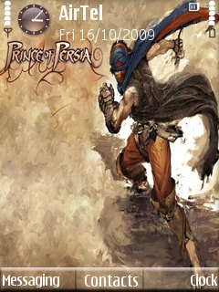 Symbian Prince of Persia Theme freeware