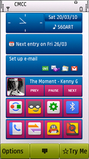 Symbian Pure Theme freeware