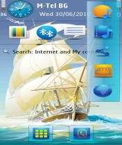Symbian Schooner Theme freeware