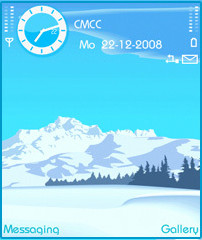 Snow Mountain Theme