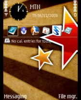 Stars Brown theme