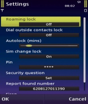 Symbian Superhero Solo Data Security freeware