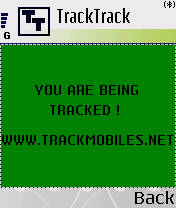 Symbian FREE TrackMobiles.Net Phone Program For 3650 freeware