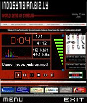 Website IndoSymbian, UltraMP3 Skin (FREE)