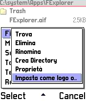 FileExplorer 1.15 (Italian version)